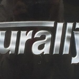 "Naturally Fit ""Chrome Style"" Car Decal"