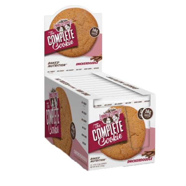 ***The Complete Cookie 12-2oz Cookies per Case, - $39.99